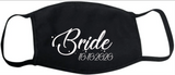 Bride with Date FM20 Flat Face Cover