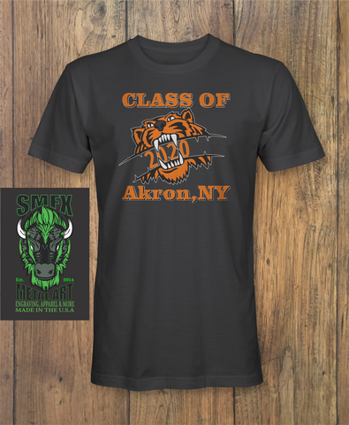 Akron Class of 2020 Strong T-shirt    #akronstrong
