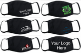 Custom Business Face Cover - Your Logo Here  FM20 Flat Face Cover