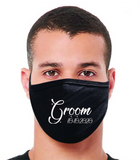 Groom with Date FM20 Flat Face Cover