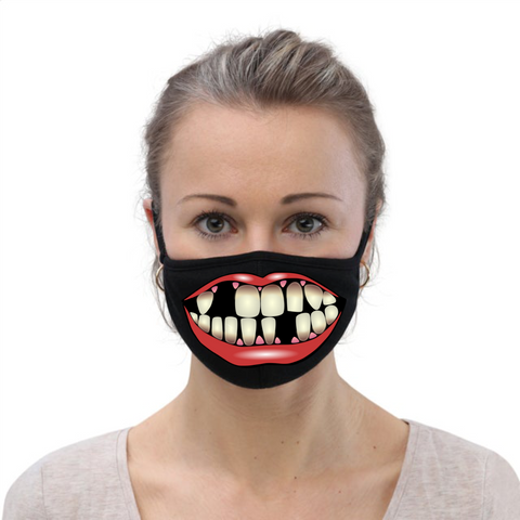 Mouth with Teeth FM20 Flat Face Cover