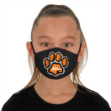 Custom Tiger Paw with Name Inside FM20 Flat Face Cover