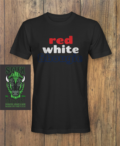 red white and bougie T-shirt