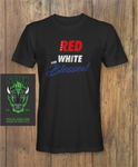 Red White and Blessed T-shirt