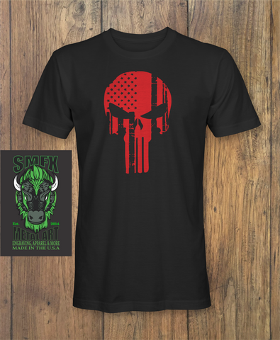 Skull Flag Red - Punisher
