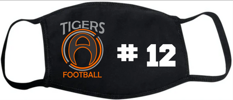 Akron Tigers FM20 Flat Face Cover