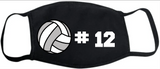 Custom Volleyball FM20 Flat Face Cover
