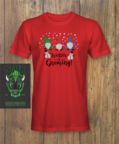 Winter is Gnoming Shirt