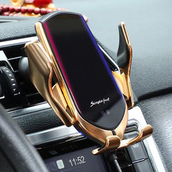 Wireless Car Charger Auto Camp Car Holder
