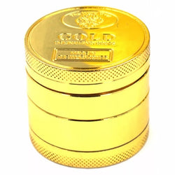 Gold Zinc 4 Layer Grinder