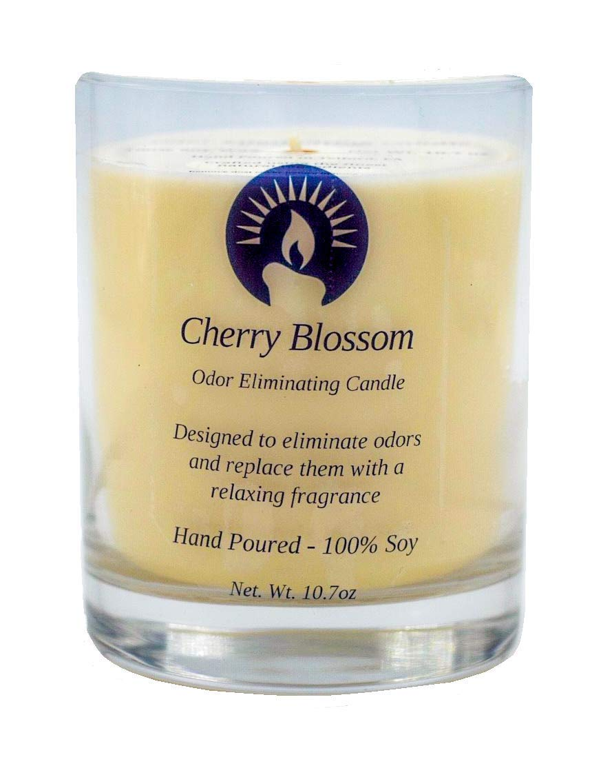 Cherry Blossom Odor Eliminating Candle, 10.7 oz
