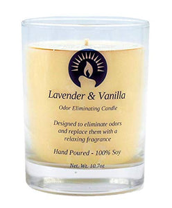 Lavender & Vanilla Odor Eliminating Candle, 10.7 oz
