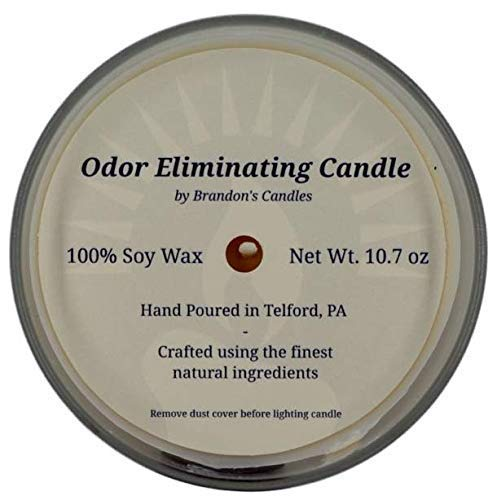 Hazelnut & Vanilla Odor Eliminating Candle, 10.7 oz