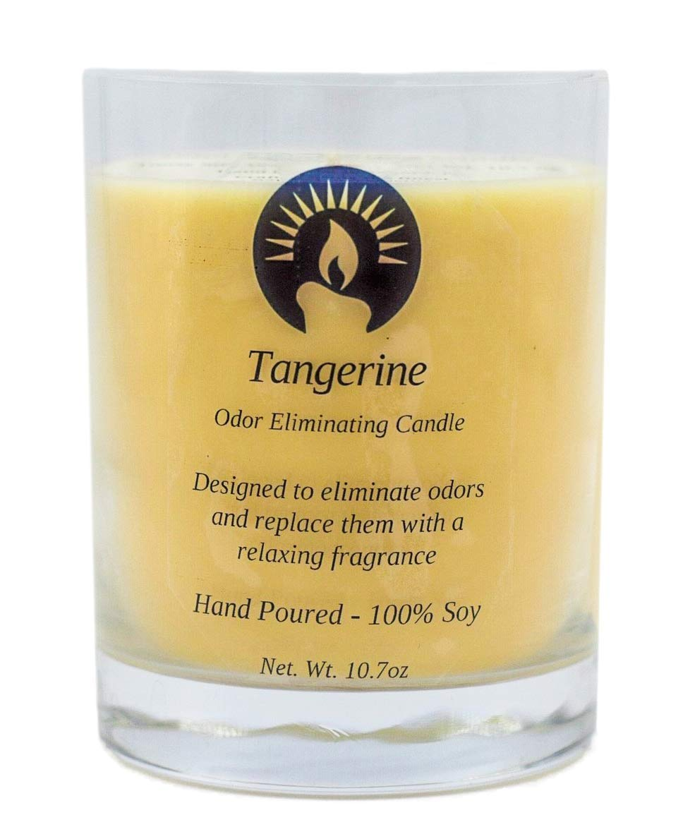 Tangerine Odor Eliminating Candle, 10.7 oz