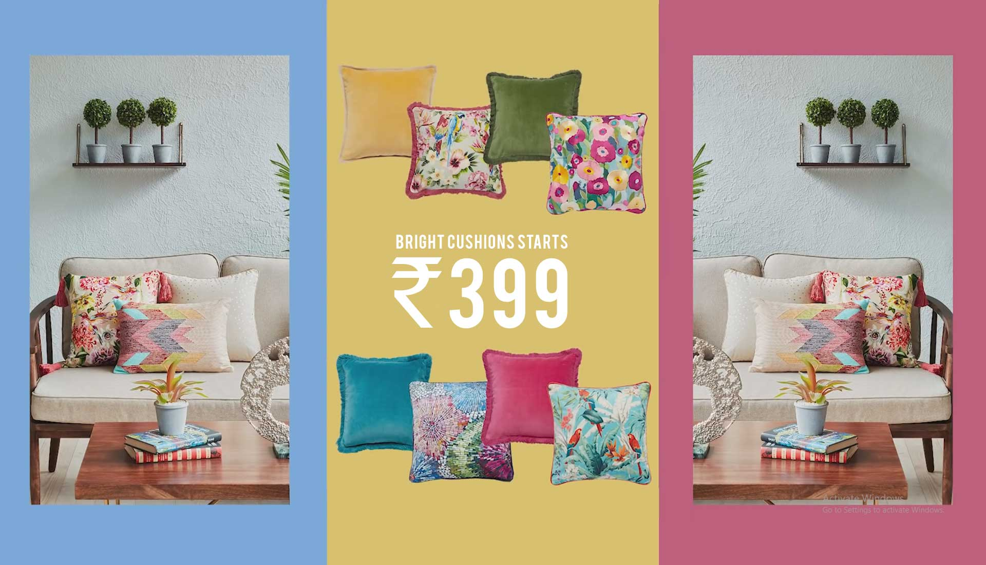 Bright Cushions | Home