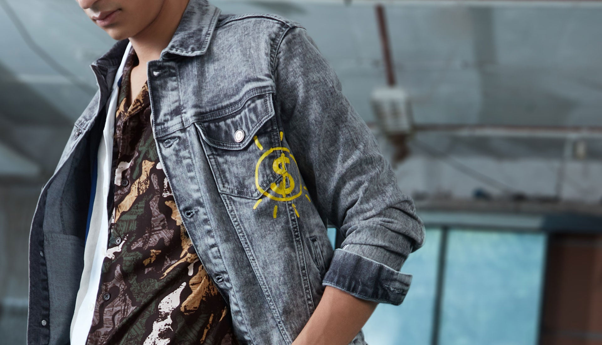 Denim Jacket By NUON For Men