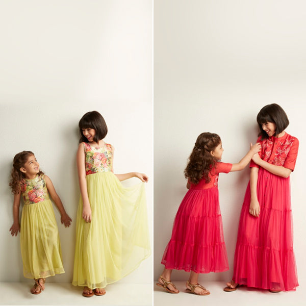 Girls Ethnic Dresses By Utsa