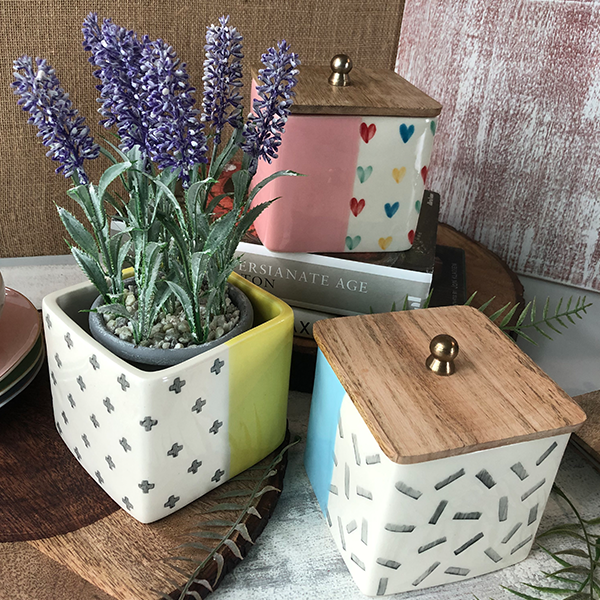 Home Décor Floral Containers By Westside
