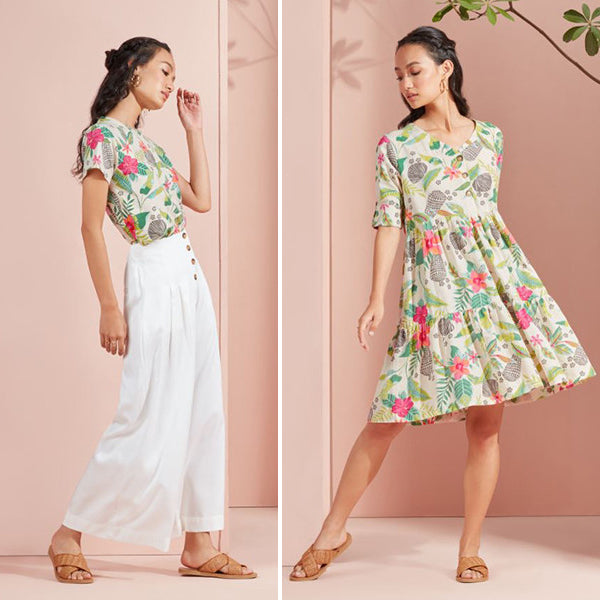 Floral Dress For Women By Bombay Paisley