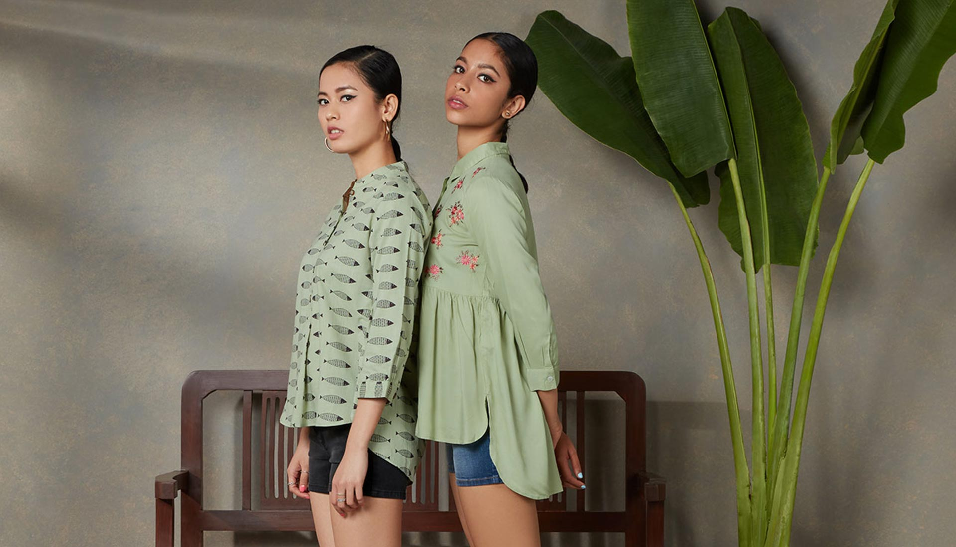 High-Low Shirts For Women By Bombay Paisley