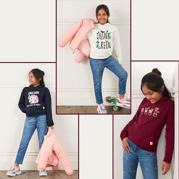 Sweatshirts And Jackets For Girls By Y&F