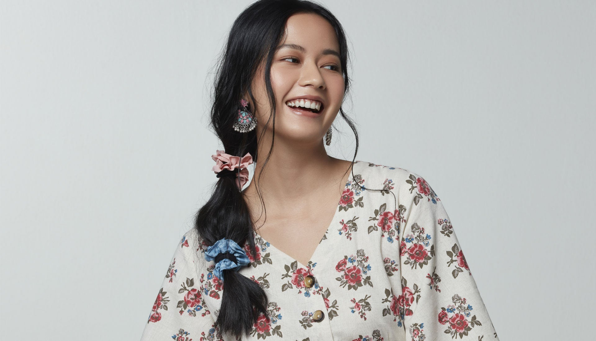 Womens Floral Dress By Bombay Paisley