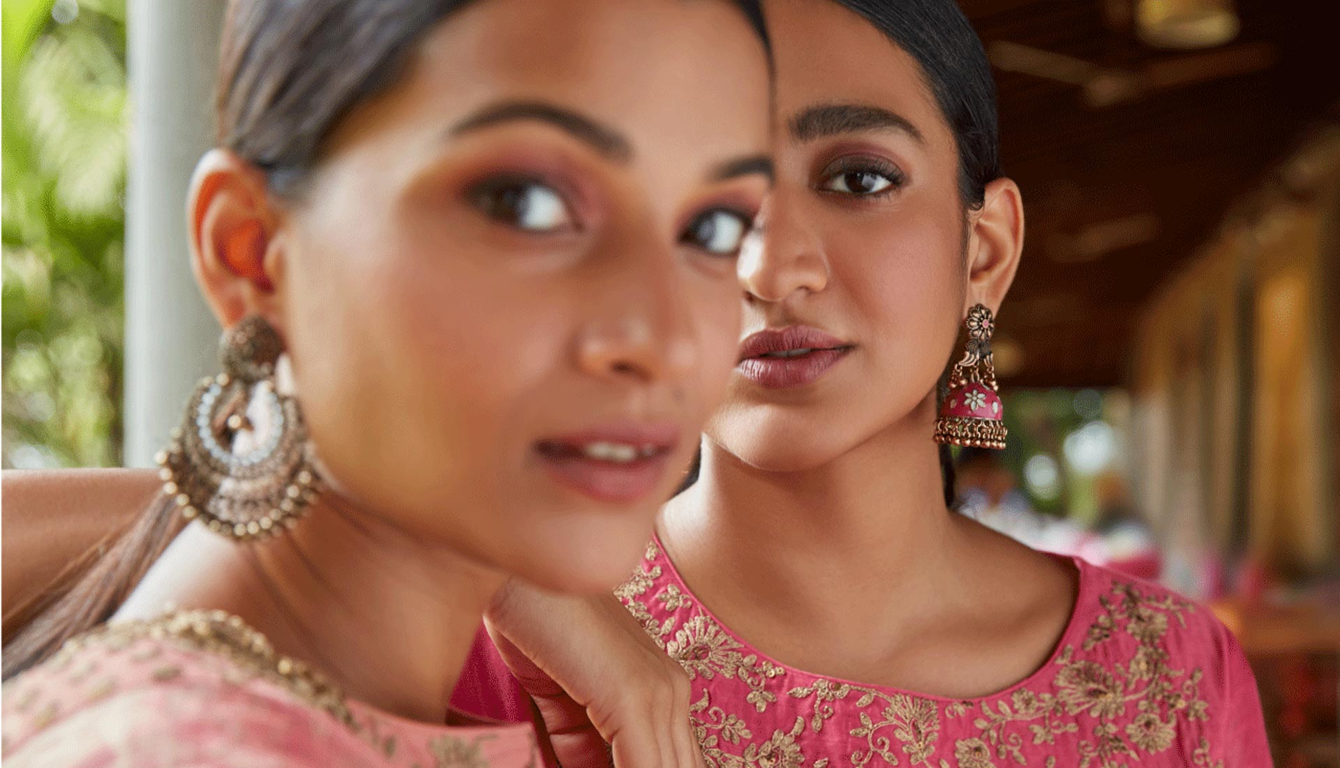 Womens Pink Ethnic Suits By Vark