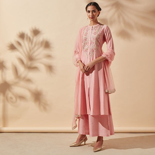 Womens Pink Suit By Vark
