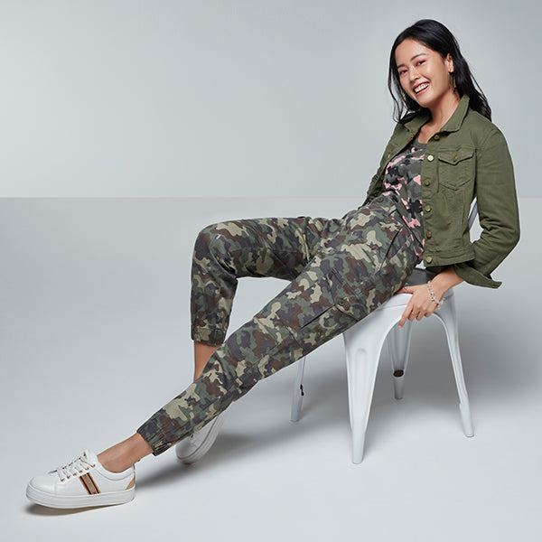 Printed Joggers By Westside Nuon women and Studiofit
