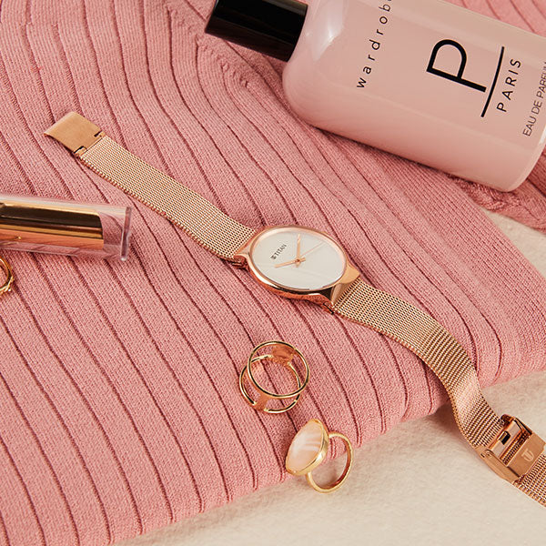 Rose Gold Accessories For Women By Westside