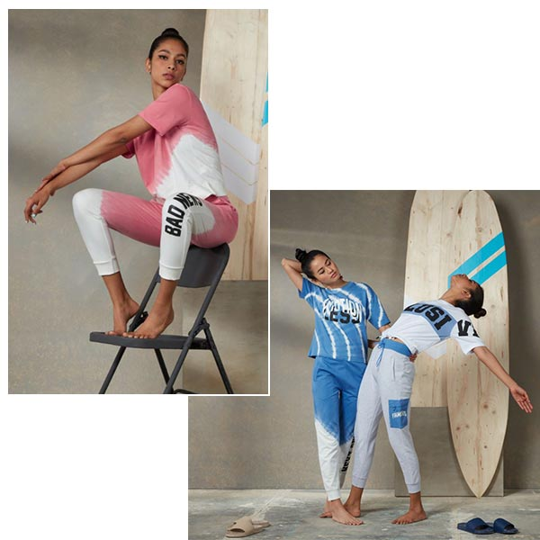 Tie And Dye Tshirts For Women By Studiofit