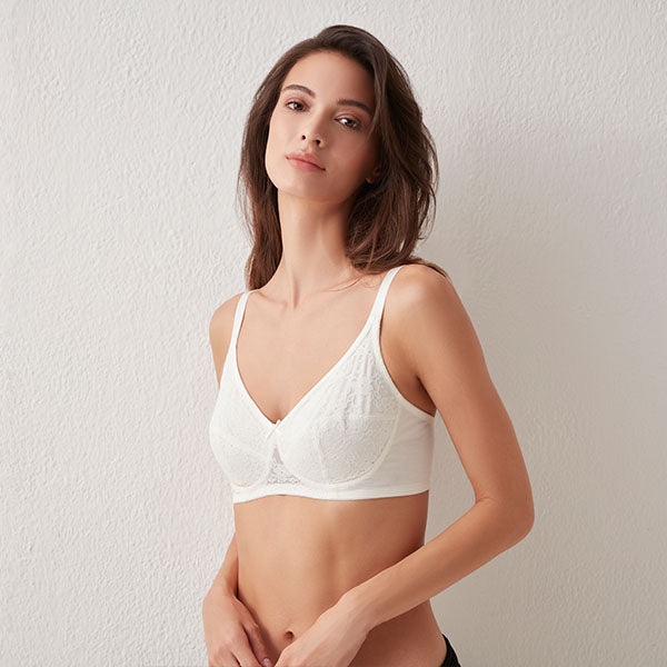 WunderLove White Bra By Westside