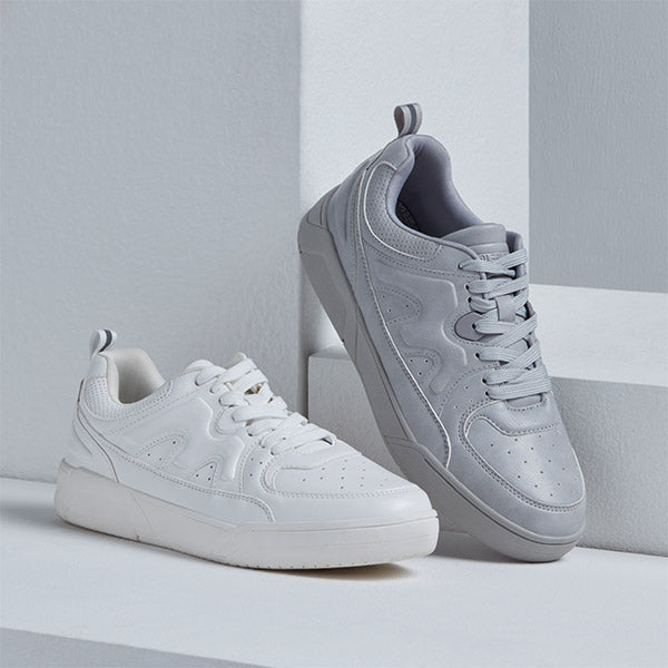 Mens White Sneakers By Soleplay