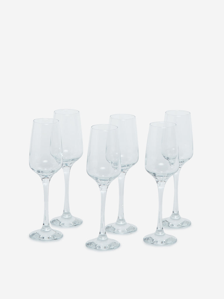 Westside Home Champagne Glasses Set of Six