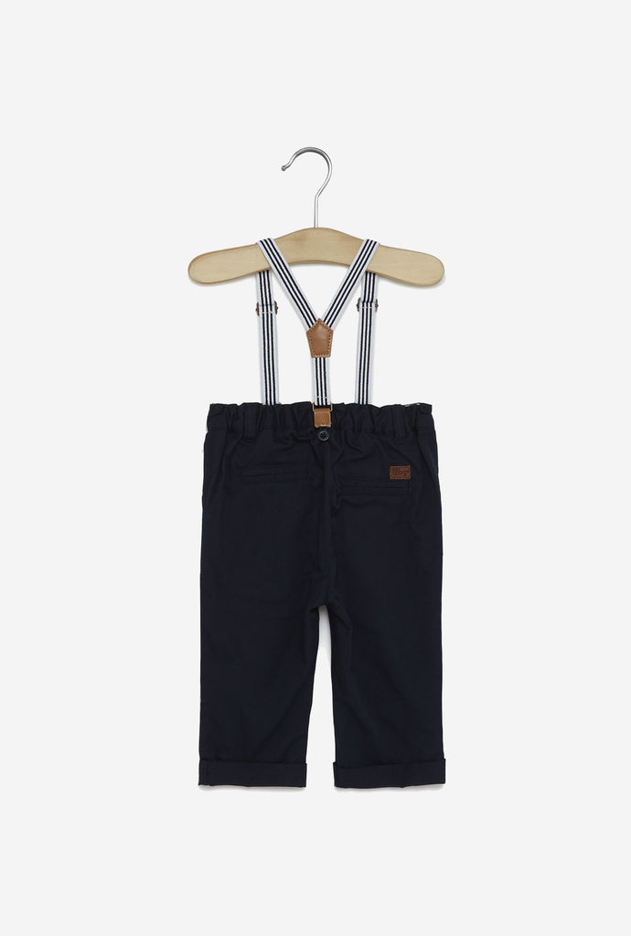 Baby HOP Navy Newton Pure Cotton Pants