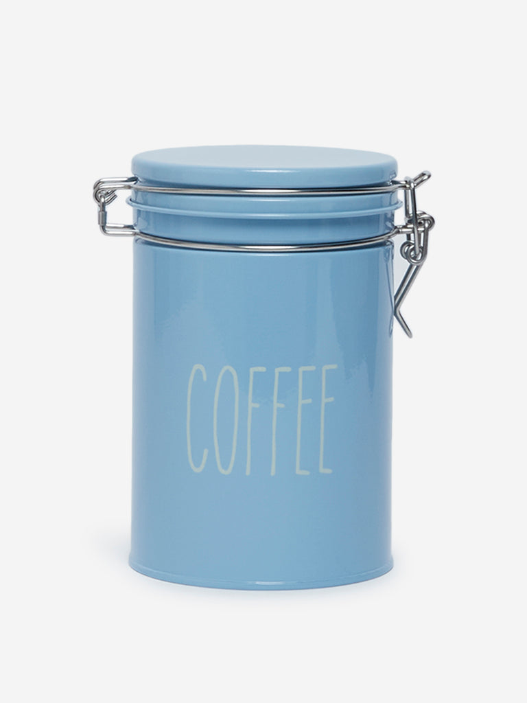 Westside Home Blue Coffee Canister