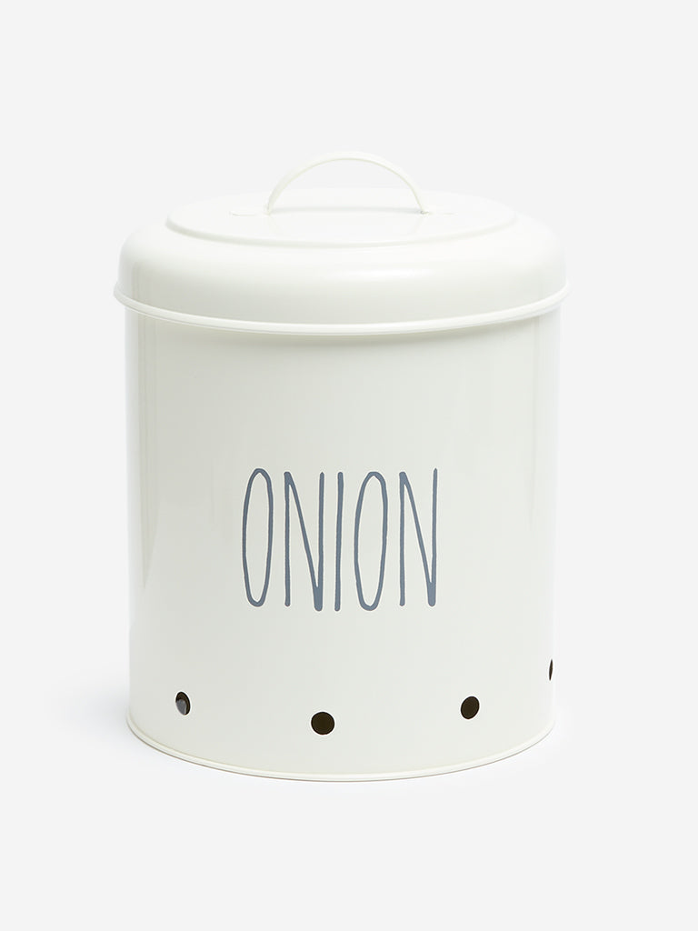 Westside Home Off-White Onion Box