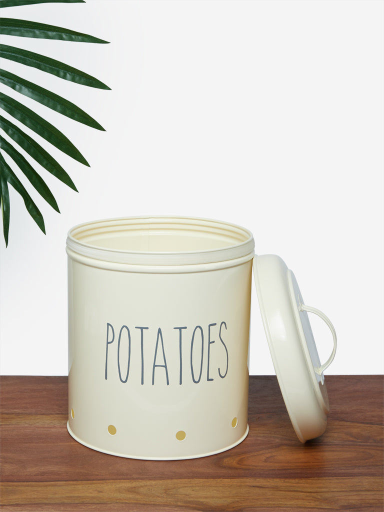 Westside Home Off-White Potatoes Box