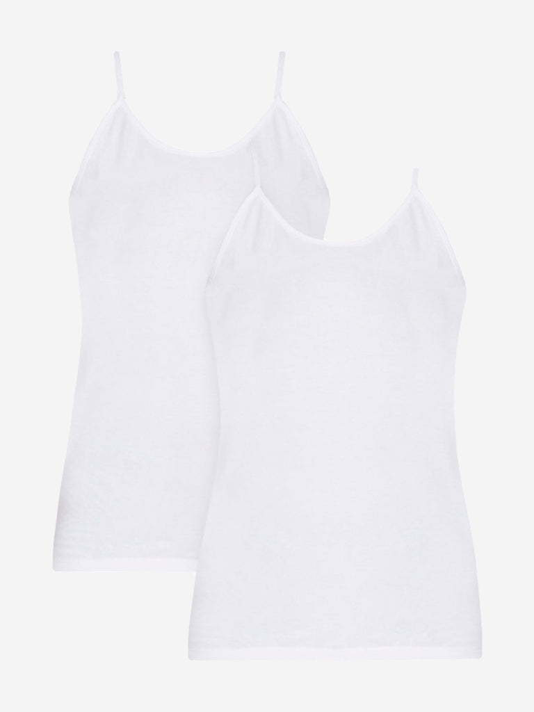 Wunderlove White Camisole Pack Of Two
