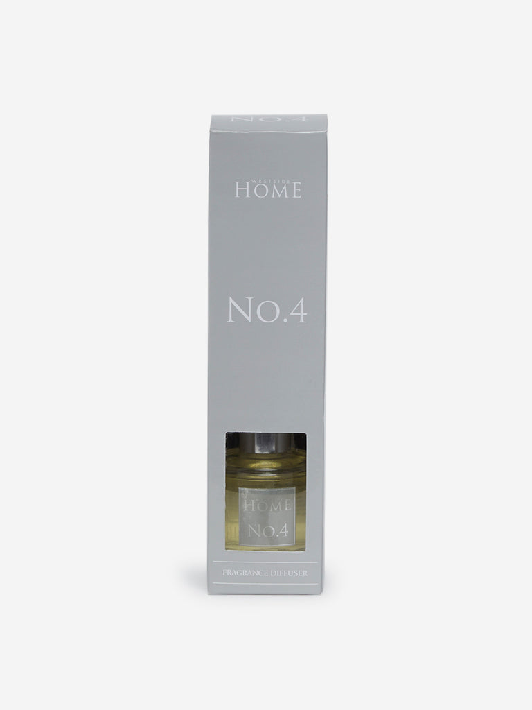 Westside Home Light Yellow No.4 Fragrance Diffuser With Four Reed Sticks