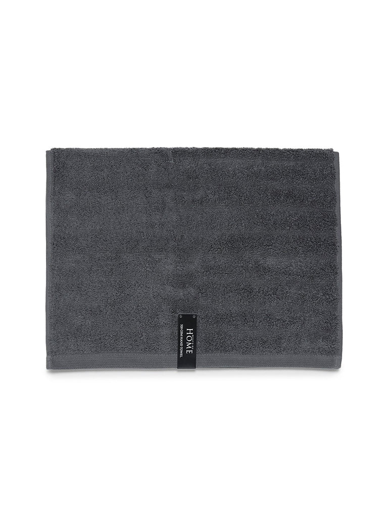 Westside Home Charcoal 520 GSM Hand Towel