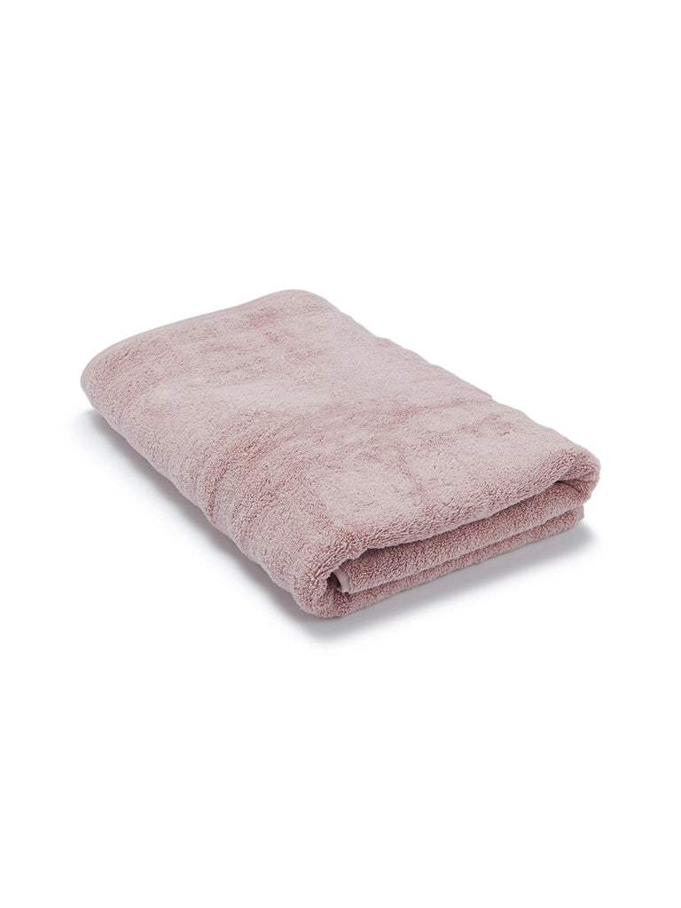 Westside Home Light Pink 520 GSM Large Bath Towel