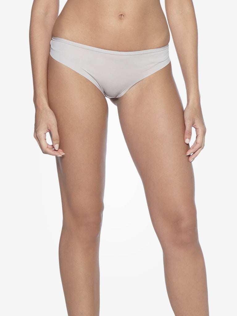 Wunderlove Light Taupe Invisible High-Leg Briefs
