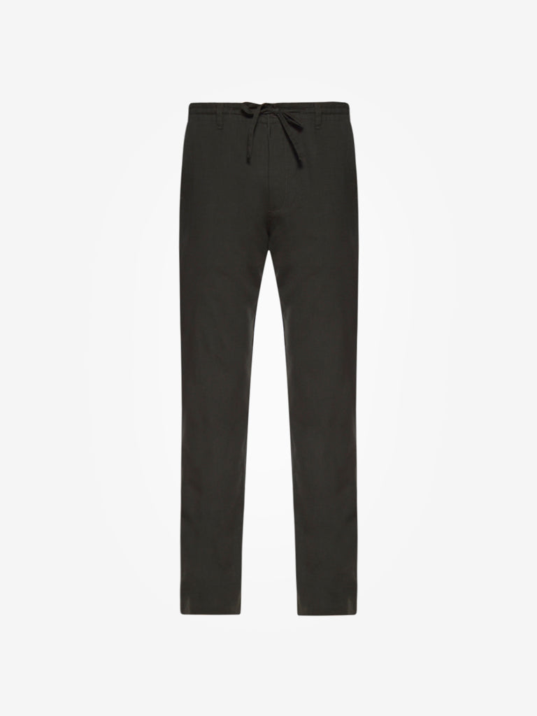 ETA Dark Khaki Slim Fit Trousers