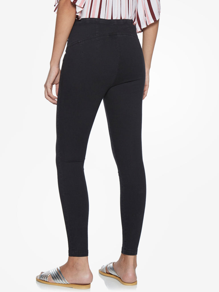 LOV Black Janet Jeggings