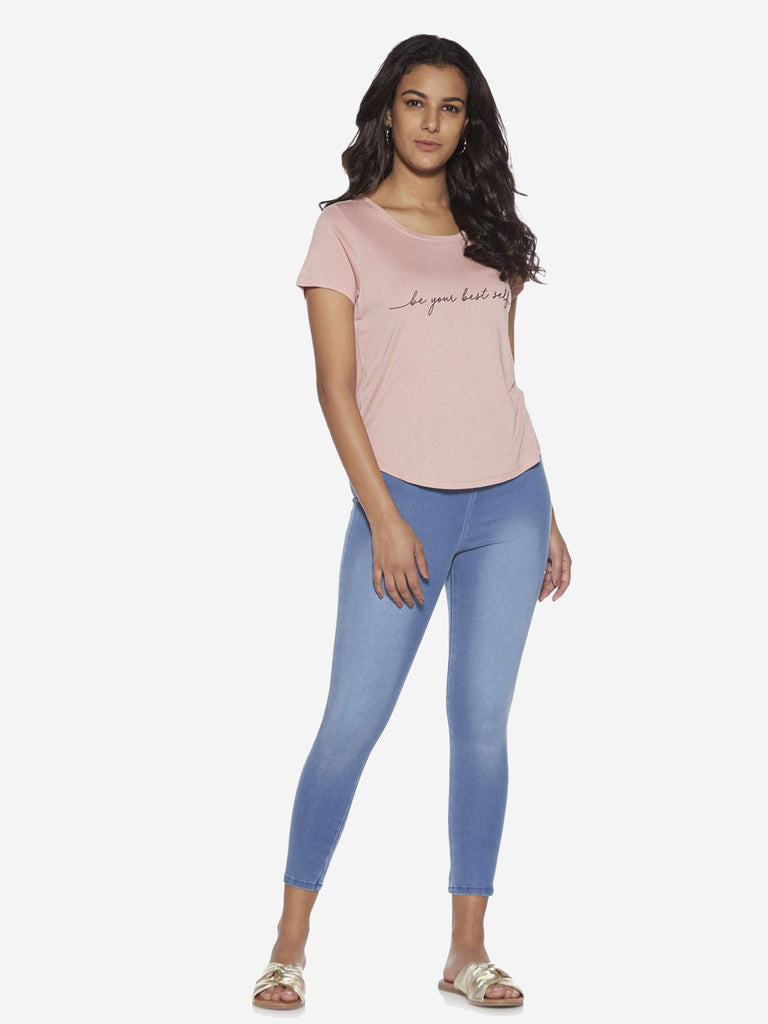 LOV Medium Blue Cropped Jeans