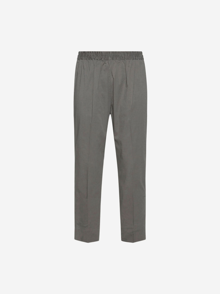 Utsa Grey Pencil Fit Ethnic Pants