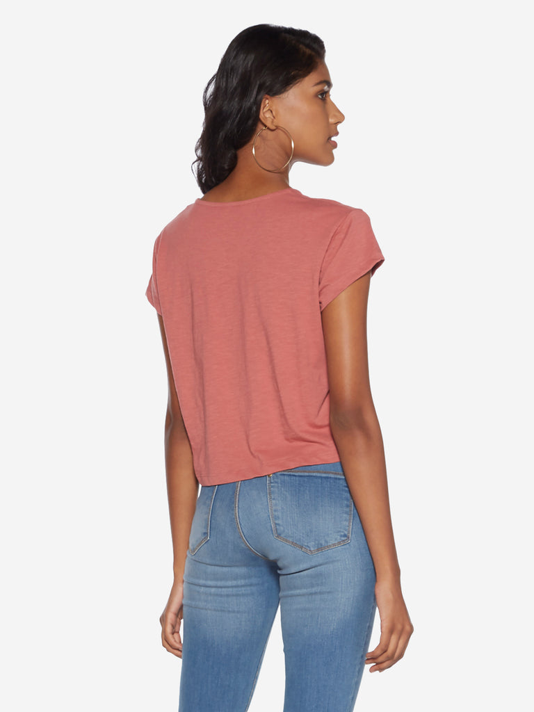 Nuon Dull Pink Samuel Pure Cotton T-Shirt