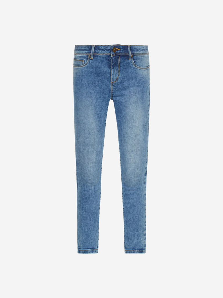 LOV Blue Enzyme Washed Jeans