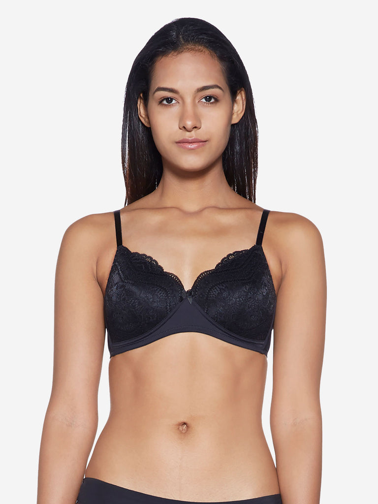 Wunderlove Black Lace Sunshine Bra